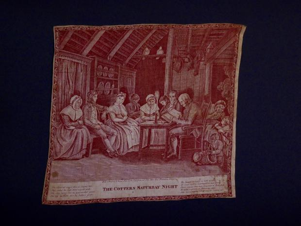 """The Cotters Saturday Night"" Printed Handkerchief"