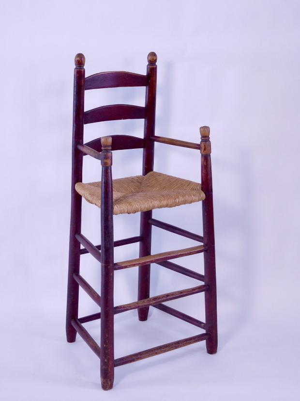 New England Ladderback Highchair