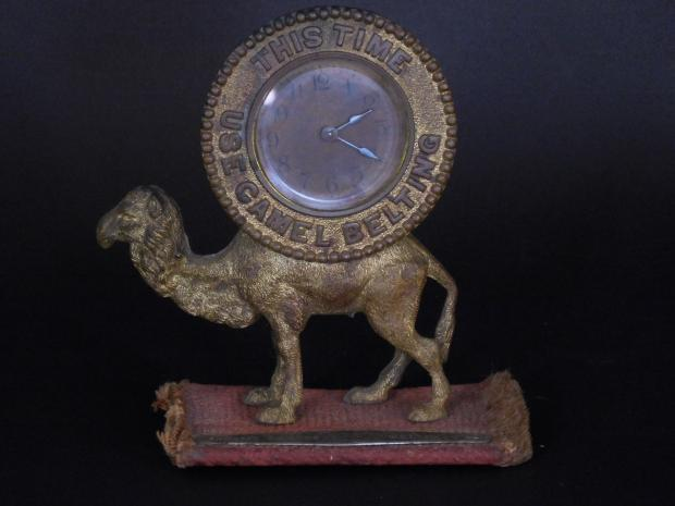 Camel Brand Belting Advertising Clock