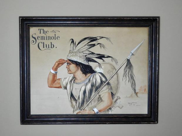 Seminole Club Watercolor