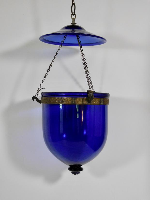 Antique Bell Jar Chandelier