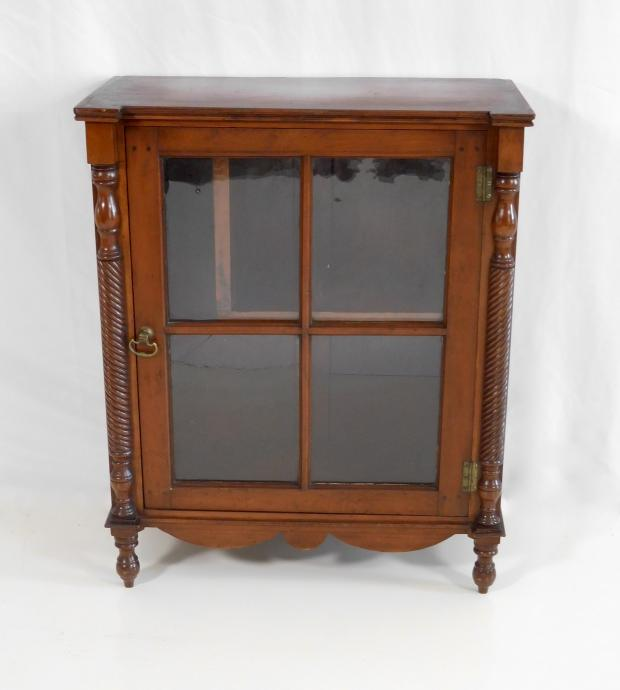 Cherry Table Top Cupboard