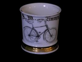Bicyclist Shaving Mug