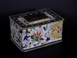 Paper Covered Sewing Box