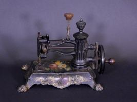 "Early Cast Iron ""Paw Foot"" Sewing Machine"