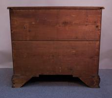 Chippendale Reverse-Serpentine Chest Of Drawers