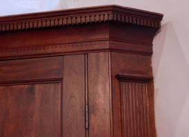 Cherry Hanging Corner Cupboard