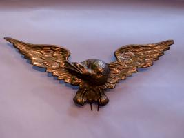 Decorative Pressed Brass Eagle