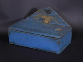 Wall Box In original Blue Paint