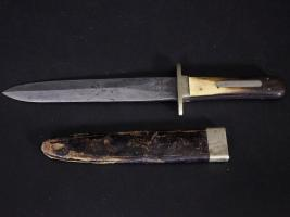 Bowie Knife Stamped Alexander