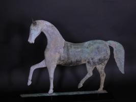 "Howard ""Index"" Horse Weathervane"
