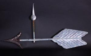 Copper And Cast Iron Arrow Weathervane