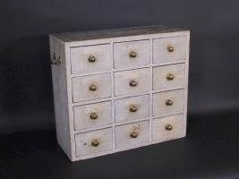 Twelve Drawer Apothecary Cabinet