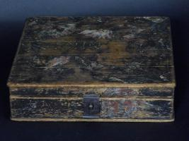 Painted Storage Box Attributed to Heinrich Bücher