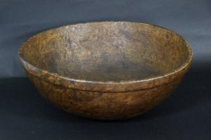 Large Ash Burl Bowl