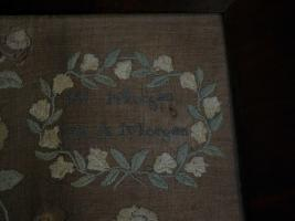 Large Lancaster County PA 1834 Sampler