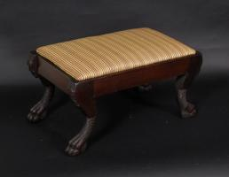 Classical Mahogany Foot Stool