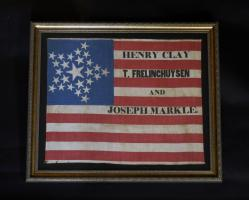 1844 Henry Clay Campaign Flag