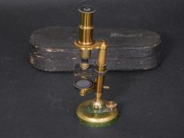 Miniature French Pocket Microscope