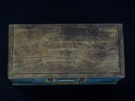 Pennsylvania Miniature Decorated Dower Chest