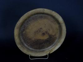 Early American Maple Treen Plate