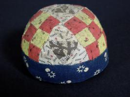 Lancaster County Nine Patch Pin Cushion