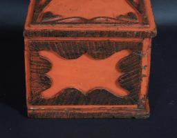 Paint Decorated Storage Box