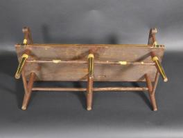 Pennsylvania Plank Bottom Childs Settee