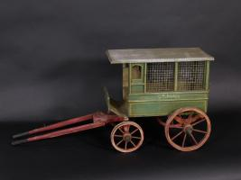 Toy Horse Drawn Mail Wagon