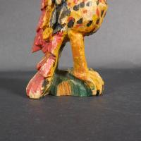 Carved And Painted Schimmel Parrot