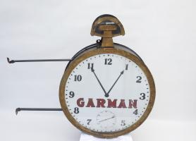 Garman Pocket Watch Advertising Sign