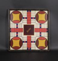 Painted Parcheesi Board