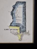 Five Southern Watercolor Maps By Abraham Rex