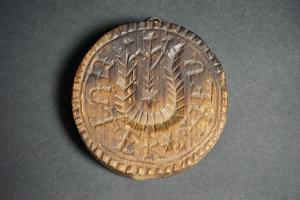 Pennsylvania Carved Butter Print