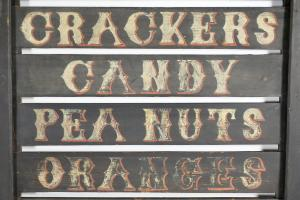 Country Store Product Advertising Sign