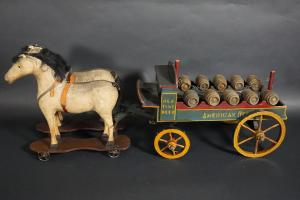 American Beers Horse Drawn Wagon